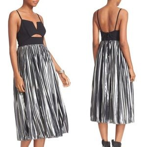 Free people piper pleated dress